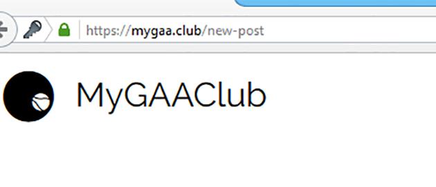 MyGAAClub Require SSL Certificate