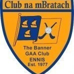 Banner GAA Ennis logo