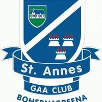 St Annes GAA logo